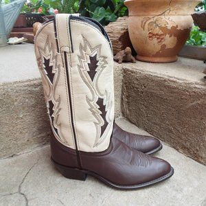 Laredo Cowboy Boots Leather Men's Size 7.5 (NEW)